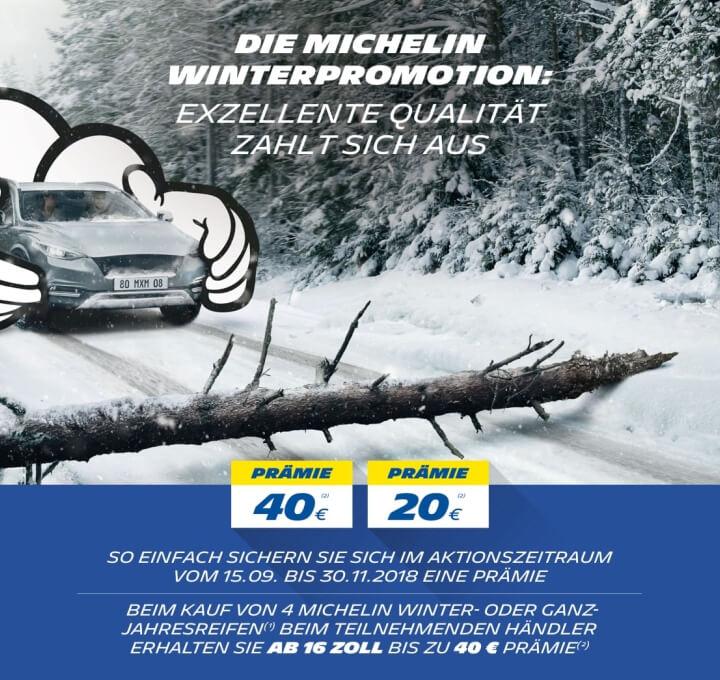 Die Michelin Winter Promotion
