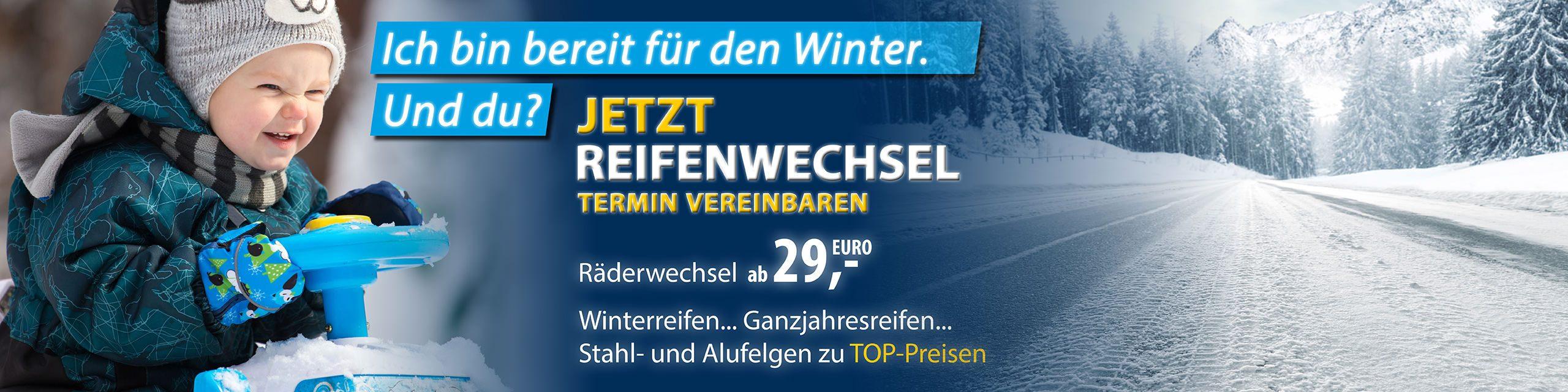 Aktion: Bereit für den Winter?